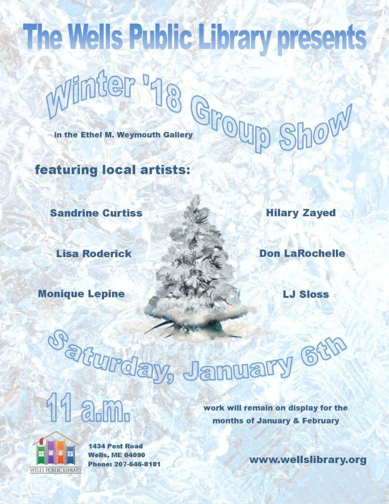 Winter '18 group show