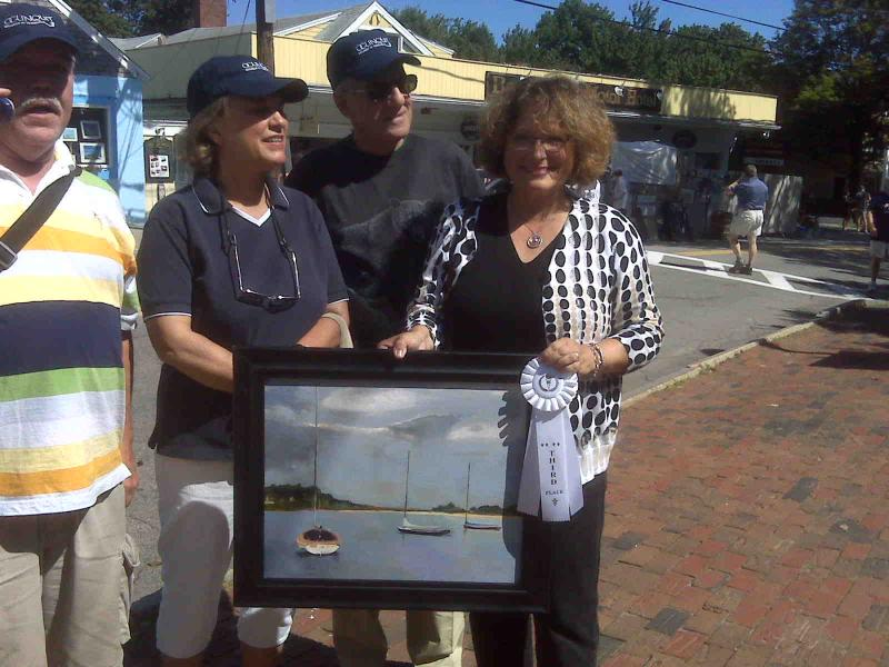 37 Annual Ogunquit Sidewalk Art Show